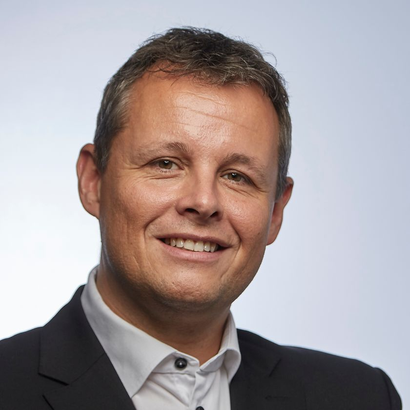 Portrætfoto af Lars Krarup