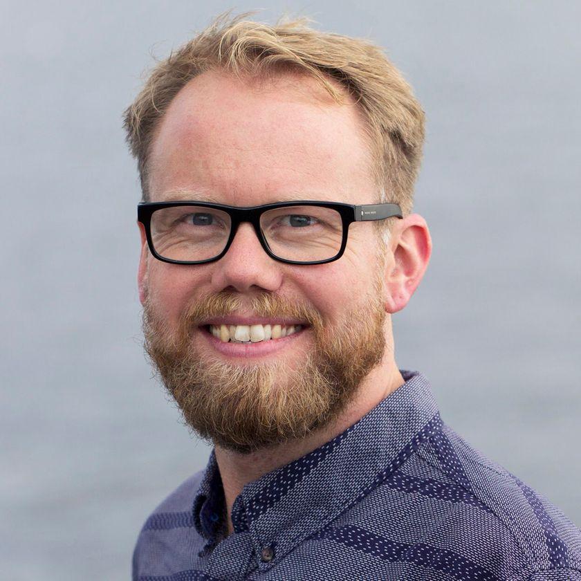 Portrætfoto af Lasse P. N. Olsen