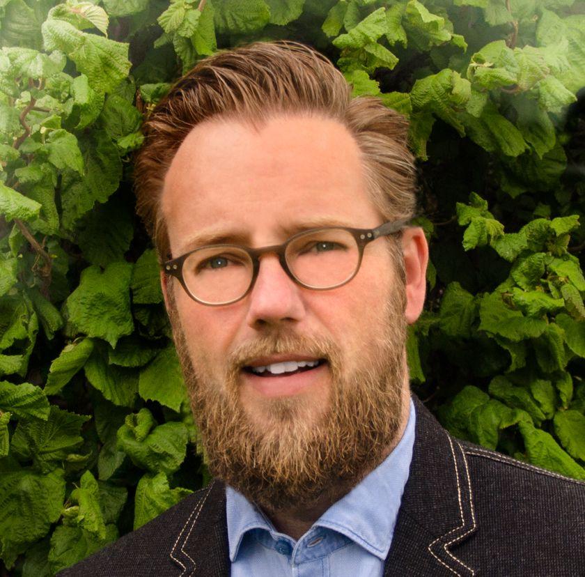 Portrætfoto af Lars Jensen
