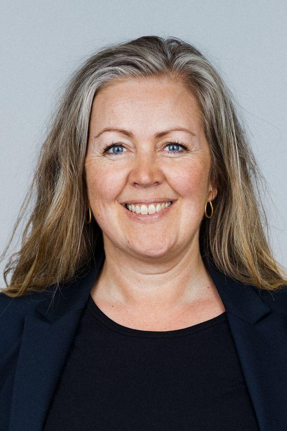 Portrætfoto af Daisy Nykjær-Andersen