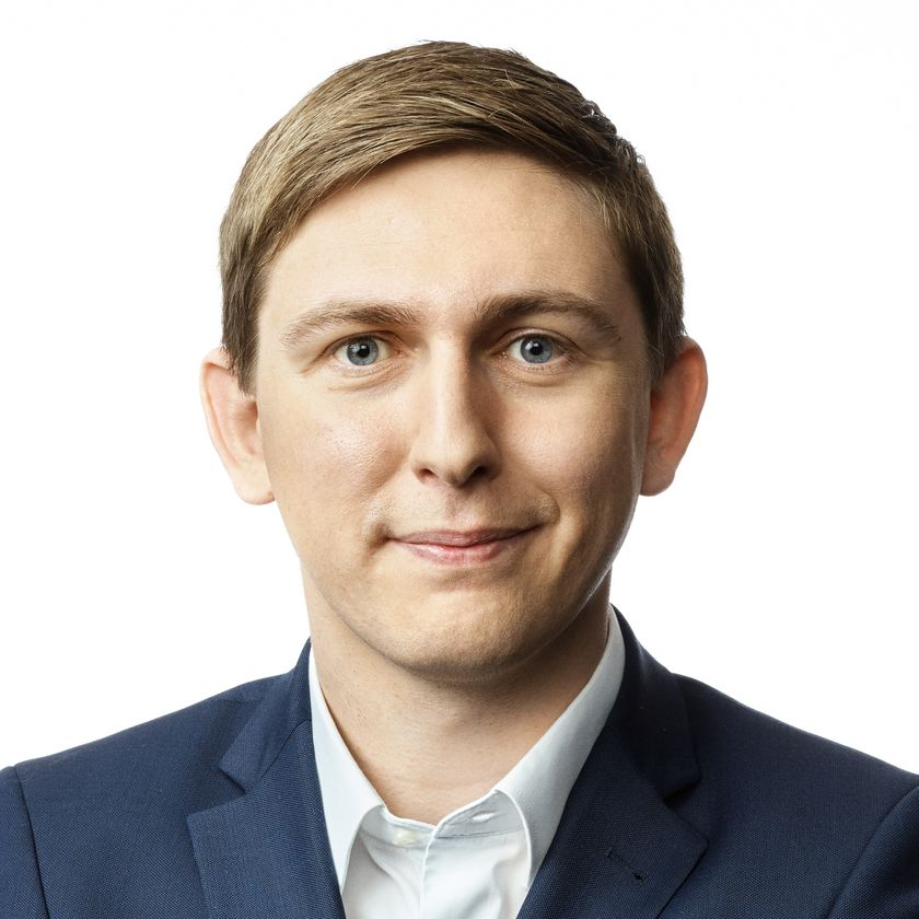 Portrætfoto af Emil Blücher