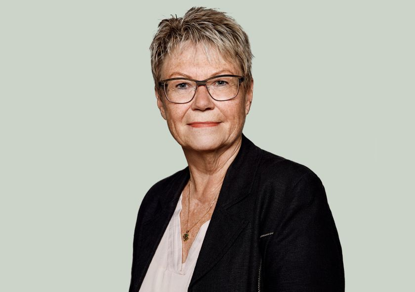 Portrætfoto af Henny Fiskbæk Jensen