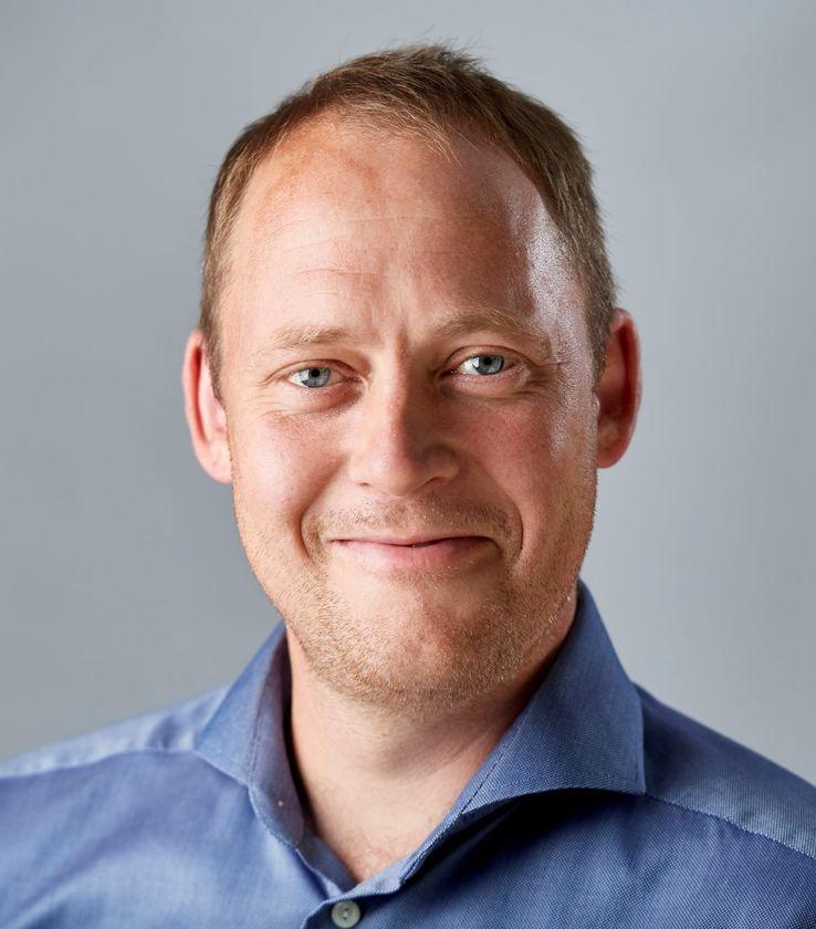 Portrætfoto af Torbjørn Fristed
