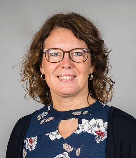 Portrætfoto af Birgit Jakobsen