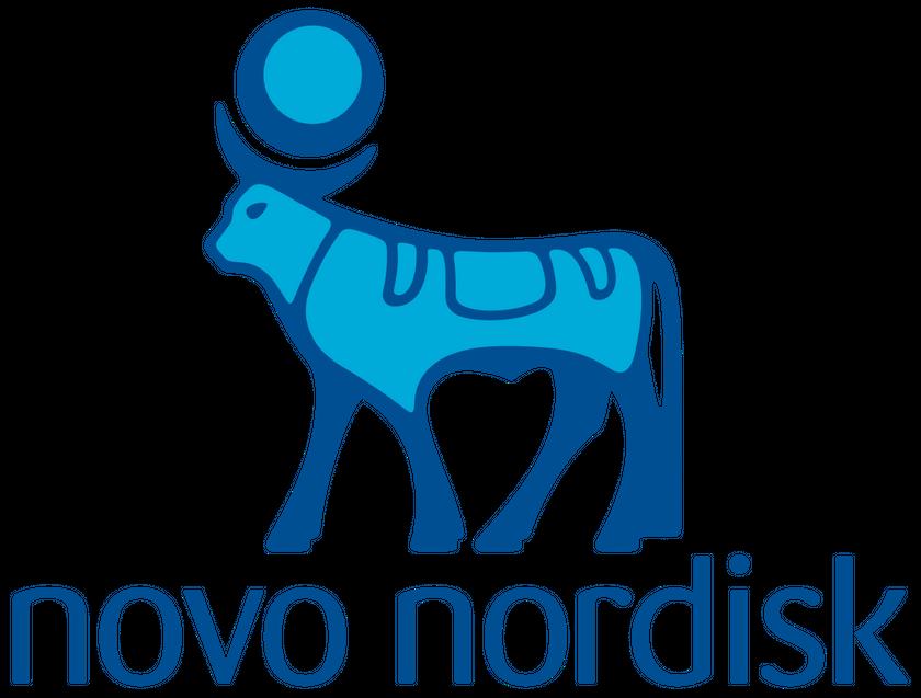Logo for Novo Nordisk A/S