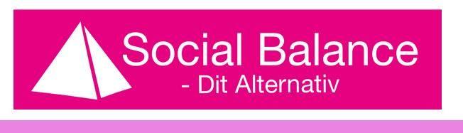 Logo for Social Balance (Næstved)