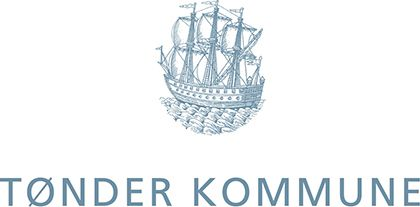 Logo for Tønder kommune