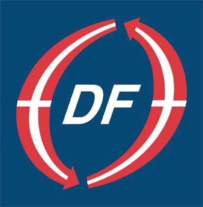 Logo for Dansk Folkeparti i Brøndby