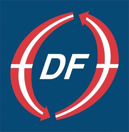 Logo for Dansk Folkeparti (Lejre)